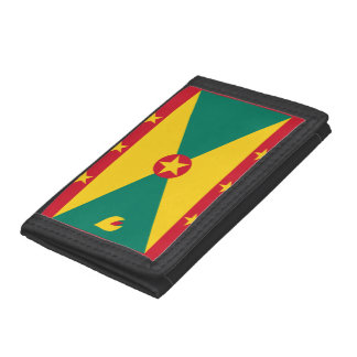 Grenada Flag Tri-fold Wallets