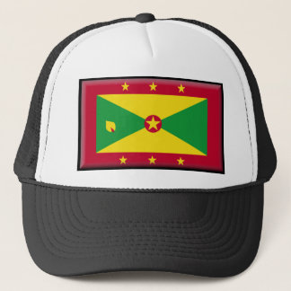 Grenada Flag Trucker Hat