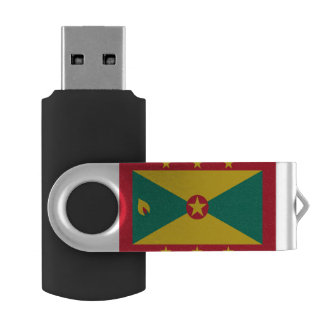 Grenada Flag USB Flash Drive