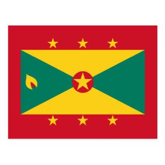 Grenada – Grenadian Flag Postcard