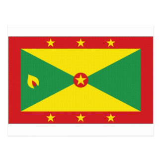 Grenada National Flag Postcard