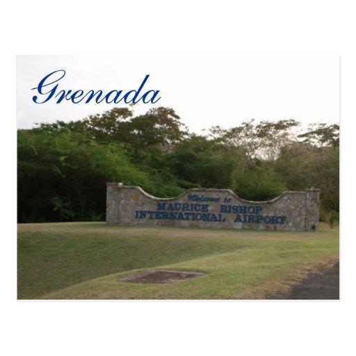 Grenada Postcard-Maurice Bishop International Airp