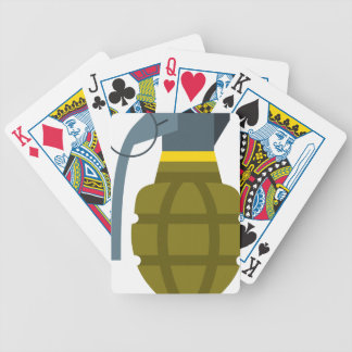 Grenade Bicycle Playing Cards