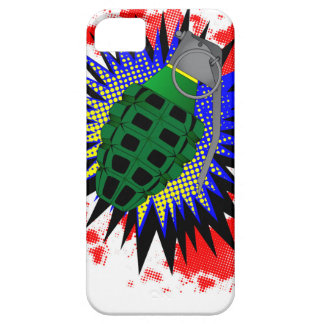 Grenade Comic Exclamation Case For The iPhone 5