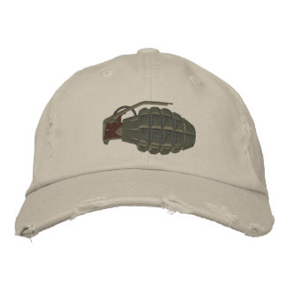 Grenade Embroidered Hat