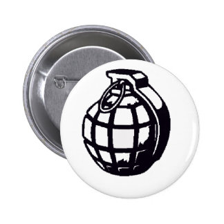 Grenade Outlined Buttons