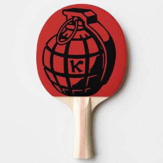 grenade ping pong paddle