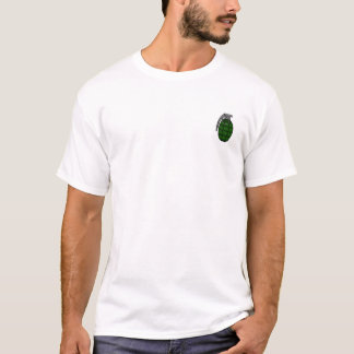 Grenade Pocket Patch T-Shirt for Men and Women