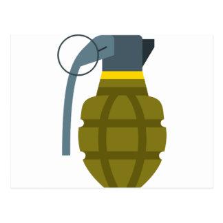 Grenade Postcard