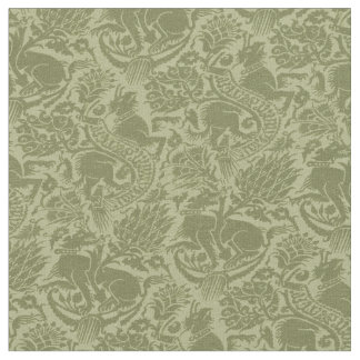 Grenoble Olive Green Fabric