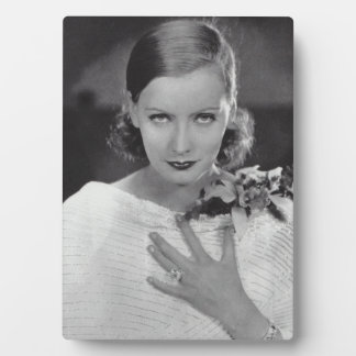 Greta Garbo Tabletop Plaque