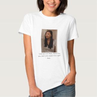 Greta Ladies Babydoll (Fitted) Tshirts