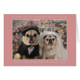 Gretta and Oliver get married Card