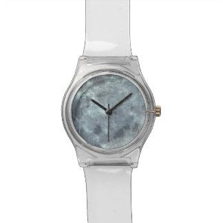 Grey abstract grunge digital graphic art design watch