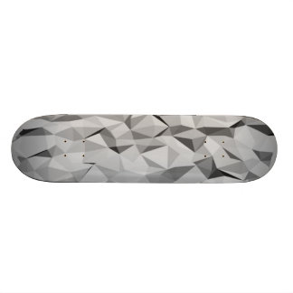 grey abstract pattern 21.3 cm mini skateboard deck