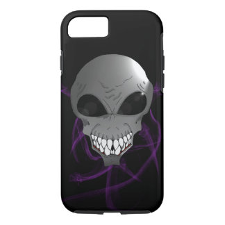 Grey alien Apple iPhone 8/7, Tough Phone Case