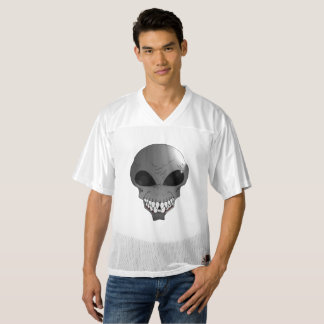 Grey alien Augusta Replica Football Jersey