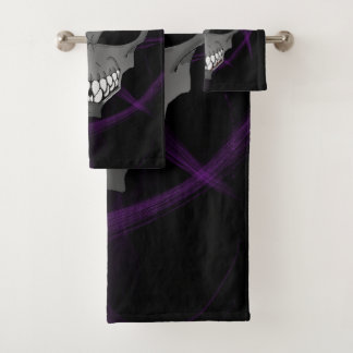 Grey alien Bathroom Towel Set or individual