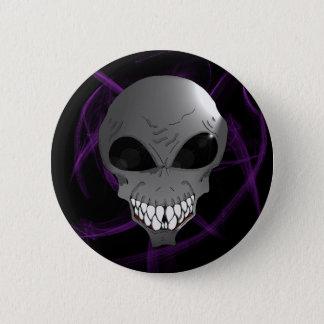Grey alien button