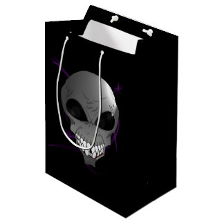 Grey alien Custom Gift Bag