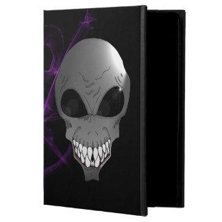 Grey alien iPad Air 1 or 2 Case with No Kickstand