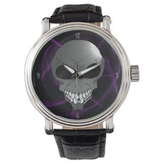 Grey alien Men's wrist watch