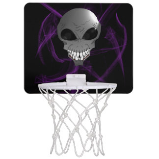 Grey alien Mini Basketball Goal Mini Basketball Hoop