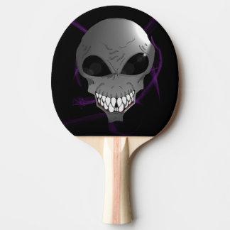 Grey alien Ping Pong Paddle