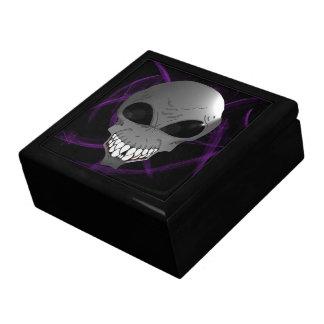 Grey alien Tile Gift Box