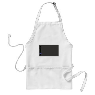 Grey and Black Wine Bottle Business Standard Apron