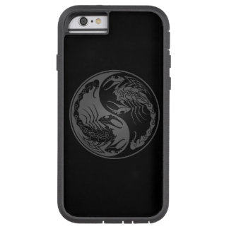 Grey and Black Yin Yang Scorpions Tough Xtreme iPhone 6 Case