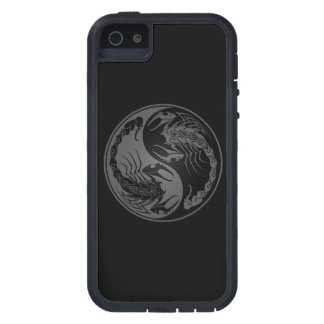 Grey and Black Yin Yang Scorpions iPhone 5 Covers