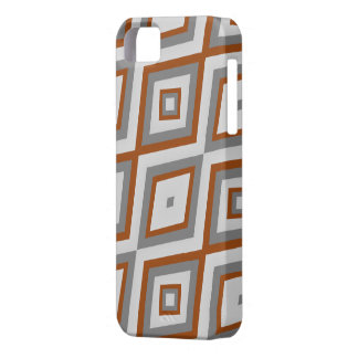 Grey and brown diamond phonecase iPhone 5 cases
