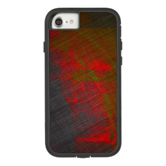 Grey and Red Abstract Print Case-Mate Tough Extreme iPhone 8/7 Case