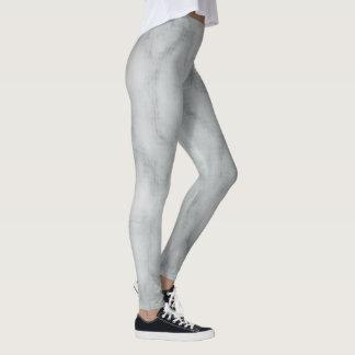 Grey and silver leggings