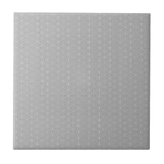 Grey and White Pattern Snowflake Flower print Tile