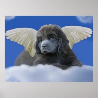 Grey Angel Poster