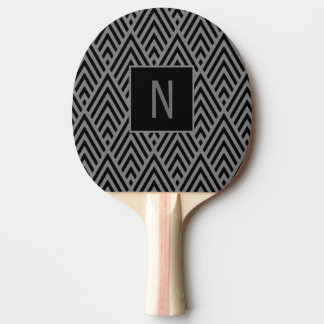 Grey Arrow Monogram Paddle