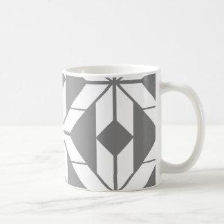 Grey Aztec Geometric Design Mug