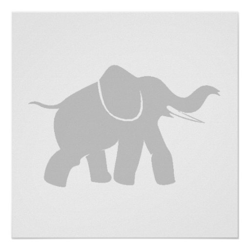 Grey Baby Elephant