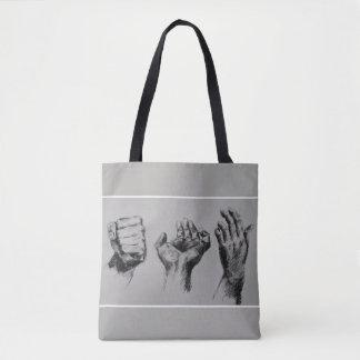 GREY BAG WITH HANDS !