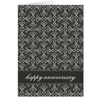 Grey Berry Cluster Anniversary Card