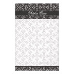 Grey Berry Cluster Stationery