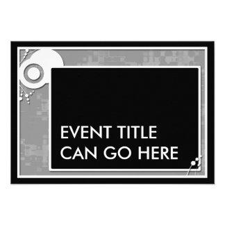 grey block scheme custom invite