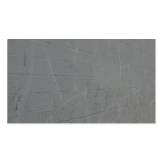 grey brick wall pack of standard business cards