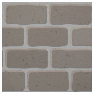 Grey Brickwall Fabric