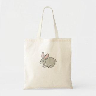 Grey Bunny Tote Bag