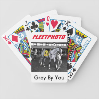 Grey by You Bicycle Playing Cards