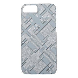 Grey camo phone cover