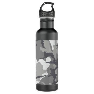 Grey Camo Steel 24 oz. water bottle 710 Ml Water Bottle
